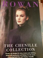 Chenille Collection by Rowan - 21 Designs for original Rowan Chenille & Chunky