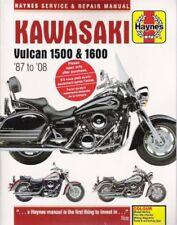 1987-2008 Kawasaki Vulcan Vn1500 Vn1600 Haynes Service Repair Manual Book 3915 (Fits: Kawasaki)