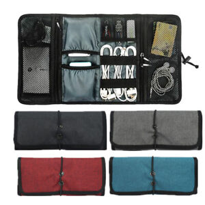 Universal Digital Storage Bag Electronics Travel Gadgets Carrying Case Pouch