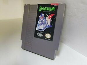 SHADOWGATE Nintendo NES Cartridge Only Cleaned +Tested Works GREAT K38