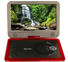 10.1 Portable CD/DVD Player, HD Widescreen Display Built-in Rechargeable Ba