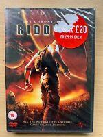 Vin Diesel CHRONICLES OF RIDDICK ~ 2004 Pitch Black Sequel Sci-Fi | UK DVD BNIB