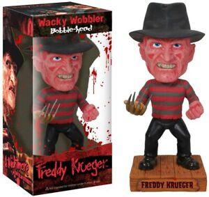 "Funko Freddy Krueger 7""Inch Wacky Wobbler Bobble Head Chase Edition Brand New"