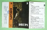 COPERTINA INLAY MC Musicassetta DRUPI Omonimo dischi ricordi no cd lp dvd vhs
