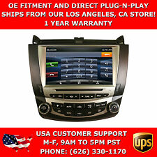 OE Fitment Navigation w/ DVD GPS Bluetooth Radio Replacement for Honda Accord