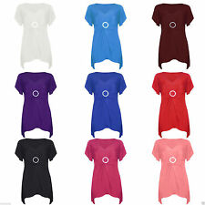 Party V Neck Waist Length Tops & Shirts Plus Size for Women