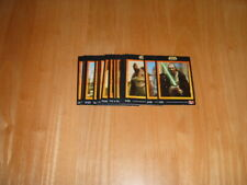 Complete set of 20 KFC Star Wars Episode 1 1999 trading Cards Exc. condition