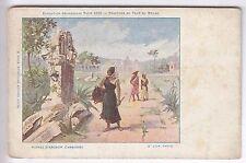 CPA  PARIS 75  -  PANORAMA RUINES D'ANGKOR CAMBODGE EXPO UNIVERSELLE 1900 ~B93