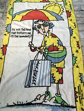Maxine Character Theme Towel One Size Yellow Character Nwot