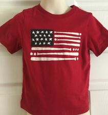 Cute Patriotic Red, White, & Blue Shirt With Baseballs & Bats Size 2X 1989 Place