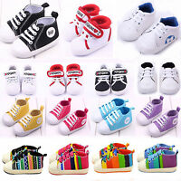 Infant Kids Sneaker Baby Boy Girl Soft Sole Shoes Boots Newborn Casual Prewalker