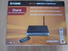 D-Link DKT 110 Wireless G Cable DSL Starter Kit Bundle + Wireless USB Adapter