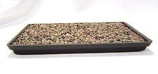 Bonsai Kunststoff Untersetzer 19x13 cm Stellfläche Unterschale schwarz U78 _19