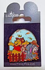 Pin 64864 HKDL - Winnie the Pooh & Friends - Seasons Version 2 Fall NEW ON CARD