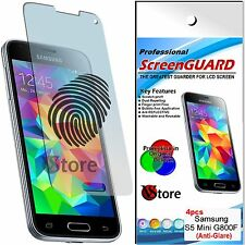 4 Pellicola Opaca Per SAMSUNG Galaxy S5 Mini G800F G800 Antiriflesso Antimpronta