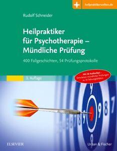Rudolf Schneider Heilpraktiker für Psychotherapie - Mündliche Prüfung
