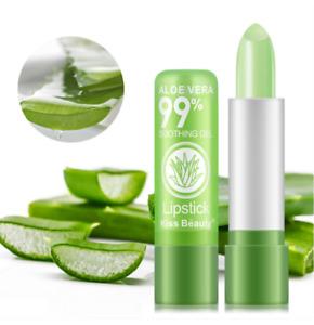 New Aloe Vera Jelly women lipstick color changing waterproof  Beautiful Makeup