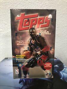 1997-98 Topps Series 1 NBA Basketball Cards Hobby BOX NEW/SEALED