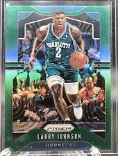 Larry Johnson 2019-20 Panini Prizm Prizms Green #9 ~~ Hornets 🏀🏀