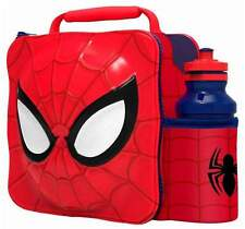 Marvel Avengers Spider Man Thermal 3D Lunch Bag Box & Drink Bottle Set 59455