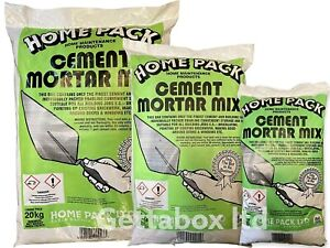 Home Pack Mortar Mix - Cement & Sand Ready to Use 5kg , 10kg , 20kg