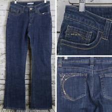 LEE Jeans SLENDER SECRET Mid Rise Dark Wash Embellished Pockets 10 29 x 30.5
