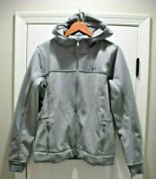Under Armour Elevated Swacket UA Hoodie Jacket Gray Womens Large 1298606-025 NEW