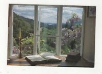 Gardens & Lake Windermere From Wordsworths Study Rydal Mount Postcard 480a