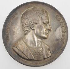 """Medaglia 1846 Colombo """" agli scienziati italiani"""" Genova by Girometti bronzo"""