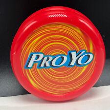 VINTAGE TOURNAMENT YOYO toy yo-yo Duncan proyo pro yo red yellow swirl playmaxx