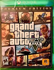 Grand Theft Auto V | Premium Online Edition | Xbox One | New ​Factory Sealed!