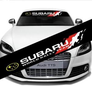 Front Windshield Decal Vinyl Car Stickers for SUBARU Auto Window DIY Exterior De