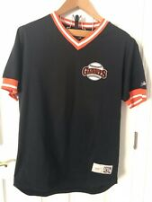 NIKE COOPERSTOWN COLLECTION WILL CLARK GIANTS JERSEY SZ Large L MENS SEWN PATCH