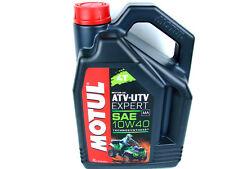 4Liter Motul ATV-UTV Expert 10W40 Quad Öl Motoröl 4-Takt Moterenöl 4T 10W-40