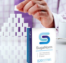 SugaNorm 100% original natural supplement 20 capsules to normalize blood glucose