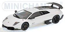 Lamborghini murcielago Lp640-4 SV 2009 blanco coche modelo 1 43 / Minichamps