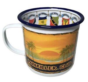 Pusser's Carribean Rum Painkiller Club Enamel Mug