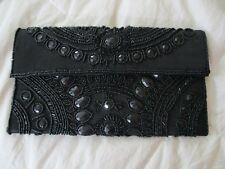 NWT BEBE ANITA BEADED CLUTCH Artful arrangement of glimmering stones and beads!!