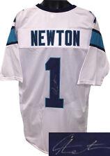 Cam Newton signed White Custom Pro Style Jersey XL- JSA Hologram e1a52fc8b