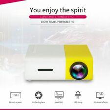 Portable Mini Projector YG300 HD LED Home Theater Cinema 1080P AV USB HDMI