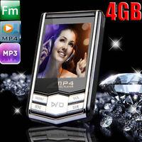 "New16GB MP3/MP4 Player Slim 1.8"" LCD Video Photo FM Radio Media Music Player 4th"