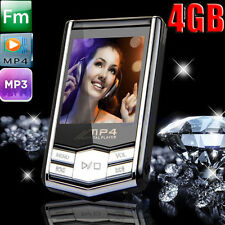 "New16GB MP3/MP4 Player Slim 1.8"" LCD Video Photo FM Radio Media Music Player 4th"