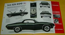 1969 Buick Skylark Convertible GS 400 ci 345 hp IMP Info/Specs/photo 15x9