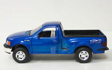 1998 Ford F-150 Diecast Model Truck Car - 1:24 Scale - 8 in - Welly Metal - Blue
