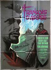 Affiche FRANCOIS D'ASSISE Francis of Assisi MICHAEL CURTIZ Dillman 120x160cm *