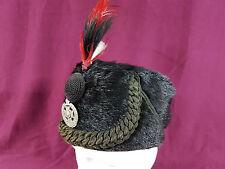 PRE WW1 BRITISH RIFLE REGIMENT BUSBY HAT