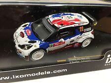CITROEN DS3 WRC #22 B.BOUFFIER- RMC13- 1/43 IXO VOITURE DIECAST - RAM544