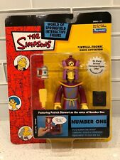 Simpsons Wos Interactive Springfield Figure - Number One - Series 12