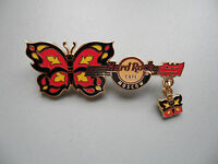 Hard Rock Cafe Moscow 2008 - Butterfly Guitar with Dangle - Limited Ed.Serie Pin