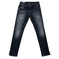 Jack & Jones Hommes's GLENN FOX Slim Fit Taille Basse Gris Du Jean W30 L32